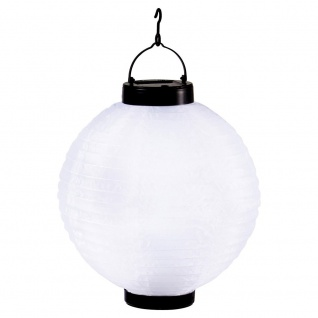 Klassische LED Solarleuchte zum Hängen Solar Gartenlampe Gartenleuchte