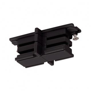 SLV Mini-Verbinder für S-Track 3P.-Schiene isoliert Schwarz 175080