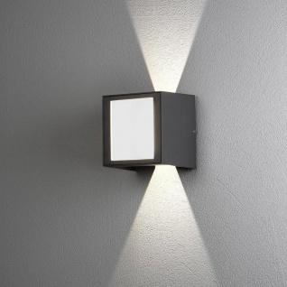 Cremona XL LED Aussen-Wandleuchte Lichtstrahl einstellbar Anthrazit