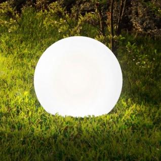 Licht-Trend Bolla XL Garten Aussenkugel Ø 60 cm / Weiss Kugellampe Gartenkugel - Vorschau 1