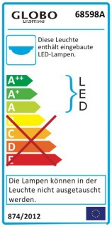 Manilo Deckenleuchte LED rund 960lm Chrom Acrylkristalle Klar
