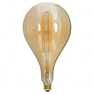 E27 Vintage LED 16cm Tropfen Dimmbar 650lm Extra Warmweiß - Vorschau 2