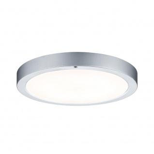 Paulmann WallCeiling Smooth LED-Panel 300mm 11W 230V Chrom matt/Weiß Metall/Kunststoff