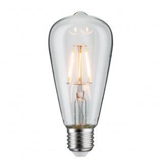 Paulmann LED Retro-Kolben ST64 4W E27 Klar Warmweiß 28392