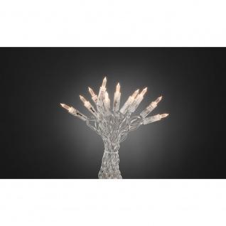 """Konstsmide 6304-123 LED Minilichterkette """" One String"""" 100 warmweisse Dioden für Innenbereich"""