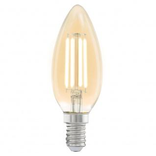 Eglo 11557 E14 LED Vintage Kerze 4W 220lm Extra Warmweiß LED Leuchtmittel