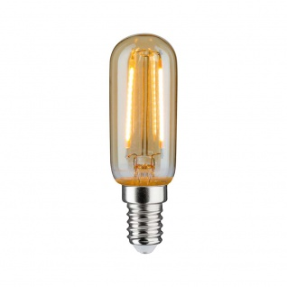 Paulmann LED Vintage Röhre 2W E14 Gold 1700K 28526