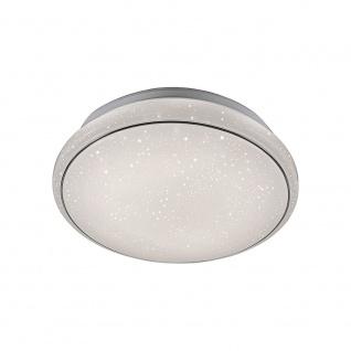 LeuchtenDirekt 14362-16 Jupiter LED Deckenleuchte 1x 17W 3000-5000K Weiß