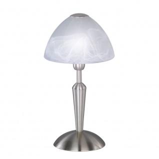 Wofi Morley Tischleuchte Nickel matt Tischlampe