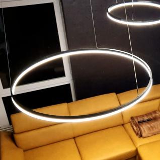 s.LUCE Ring 120 LED Pendelleuchte 5m Abhängung Dimmbar Ringleuchte Hängelampe