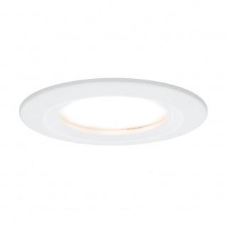 Paulmann 3er LED Einbauleuchten-Set Coin Slim IP44 rund 6, 8W Weiß dimmbar 93870
