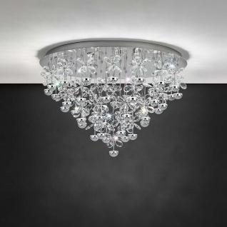 Eglo 39246 LED Deckenlampe Pianopoli 9300lm Chrom Klar