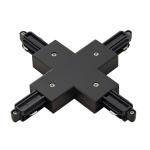 SLV X-Verbinder für 1-Phasen HV-Stromschiene Aufbauversion schwarz 143160