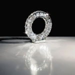 Toneria Kristall LED Tischleuchte chrom 24 x 0, 5W Tischlampe
