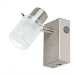 Eglo 93701 Orvieto 1 LED Spot Weiss Klar Nickel-Matt
