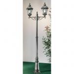 Kolarz Westminster Stehleuchte / Beige antik / 2-flammig / Pollerlampe / Sockellampe