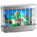 LeuchtenDirekt 85204-70 Basti LED Kinderlampe Fische 1x 3W 6500K Silberfarben
