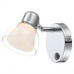 Globo 56182-1 Nashville Strahler Chrom LED