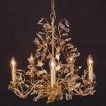 Holländer 178 1507 G Hängeleuchte 5-flammig Buono Medium Eisen Gold