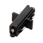 SLV 143090 Längsverbinder für 1-Phasen HV-Stromschiene schwarz elektrisch