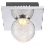 Globo 56864-1 Sakeka Wandleuchte Chrom LED