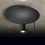 Holtkötter LED-Deckenleuchte Disc direktes & indirektes Licht / 2200 + 900lm / Schwarz