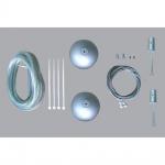 Evotec 08091 Office Seilabhängeset für Oval Quadra Wellfit Leuchten