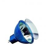 Paulmann 8833249 HKLS Happy Color mit Schutzglas BAB flood 38° 20W GU5, 3 12V 51mm Blau