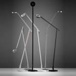 Rotaliana 1SRF1 002 63 EL0 String LED-Stehleuchte mit Dimmer / Stehlampe Weiss