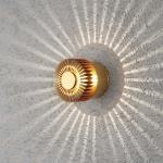 Konstsmide 7900-800 Monza LED Effekt Aussen-Wandleuchte / Bronzefarben