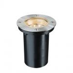 Paulmann Special EBL Set Boden rund LED 1, 2W 2700K 230V 110mm Edelstahl/Metall