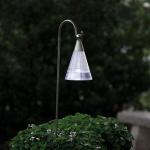 Konstsmide 7632-000 Assisi Solar LED Kegel hängend Edelstahl Acrylglas