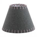 Eglo 49434 1+1 Vintage Filzschirm Ø 20, 5cm Grau Pink