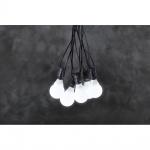 Konstsmide 4641-107 LED System Erweiterung für Biergartenkette opal 10 Birnen Lichterkette