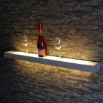 s.LUCE Cusa LED-Lichtboard 100cm / Wandleuchte Up&Down Wandregal Wandlampe