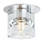 Paulmann Quality EBL Set Glassy Tube LED 3x1W 3, 6VA 12V G4 Ø83mm Klar Chr Gl Me