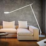 Rotaliana 1SRXL 002 63 EL0 String XL LED-Stehleuchte mit Dimmer / Stehlampe Weiss