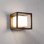 Licht-Trend LED-Aussenleuchte Quadro W1 Wand oder Decke 10W Anthrazit