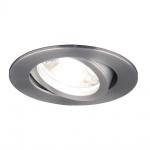 s.LUCE GU10 True Einbaustrahler schwenkbar 230V / Alu-matt Einbaustrahler Einbaulampe