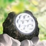 LED Solarleuchte Stein 15 x 11cm in Steinoptik Gartenlampe Gartenleuchte