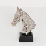 Holländer 320 3503 Pferdekopf Purosangue Aluminium Silber-Schwarz
