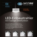 LED Switchmo dimmbares Leuchtmittel für Spots 350lm 5, 5 W warmweiss