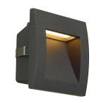 SLV 233605 Downunder OUT LED S, Wandeinbauleuchte, anthrazit