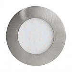 Eglo 96417 Pineda-Ip LED Aussen-Einbauleuchte Ø 10, 2cm 1000lm Nickel-Matt