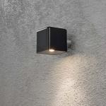 Konstsmide 7681-750 Amalfi LED Aussen-Wandleuchte inkl. Trafo / 12V / Schwarz