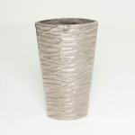 Holländer 207 3541 Dekovase Catapulta Aluminium Silber