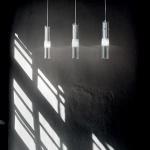 Ideal Lux 089621 Bar Esstischleuchte 3-flammig Chrom Hängeleuchte Esszimmerlampe