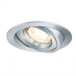 Paulmann Premium EBL Set Drilled Alu rund schwb. LED 3x4W 230V GU10 51mm Alu gedreht /