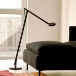 Rotaliana 1SRF1 002 62 EL0 String LED-Stehleuchte mit Dimmer Stehlampe Schwarz