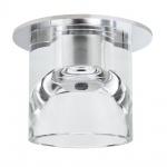 Paulmann Quality EBL Glassy Tube max. 20W 12V G4 Ø83mm Klar Chrom
